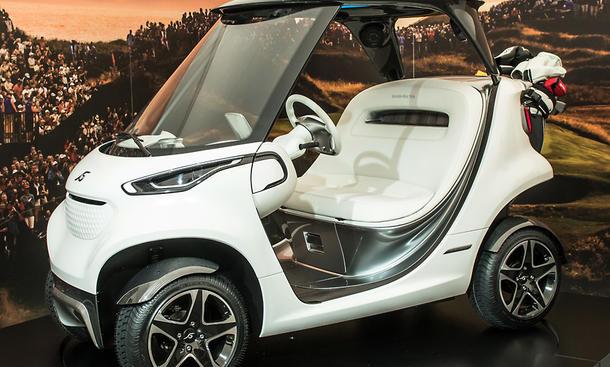 mercedes benz style edition garia golf car. Black Bedroom Furniture Sets. Home Design Ideas