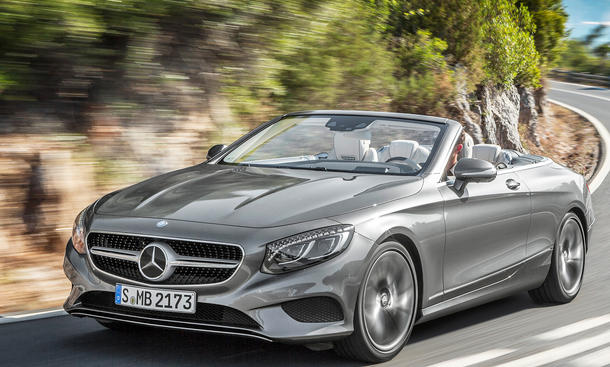 mercedes s 500 cabrio: test | autozeitung.de
