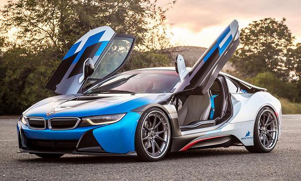 BMW i8: Tuning von Vorsteiner