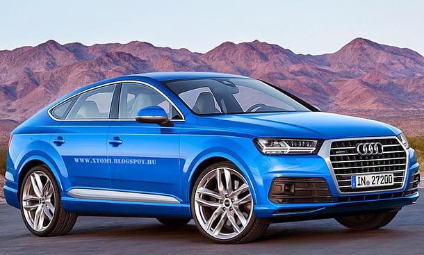 Audi Q8 (2017) – Rendering