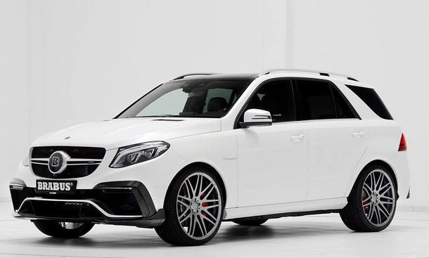 Mercedes-AMG GLE 63: Tuning von Brabus