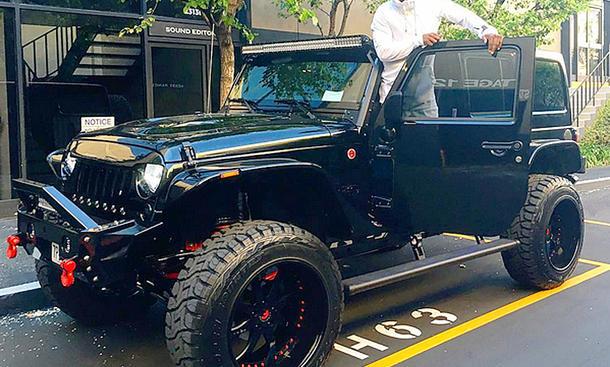 Jeep Wrangler von Kevin Hart
