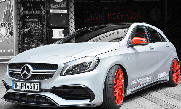 AMG A 45 mit 410 PS