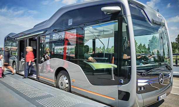 Mercedes-Benz Future Bus (2016)