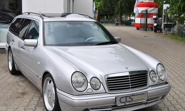 Mercedes E55 AMG von Michael Schumacher