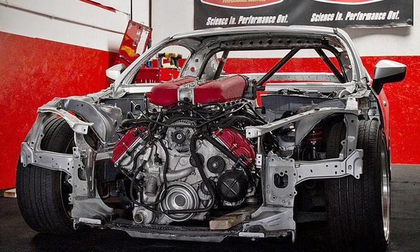 Toyota GT86 mit Ferrari-V8