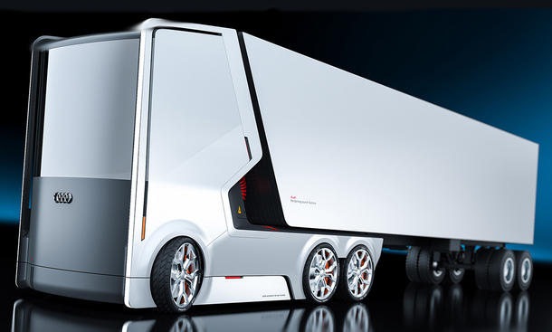 Audi-Truck: Design-Entwurf
