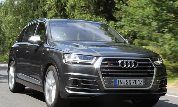 Audi SQ7: Test | autozeitung.de