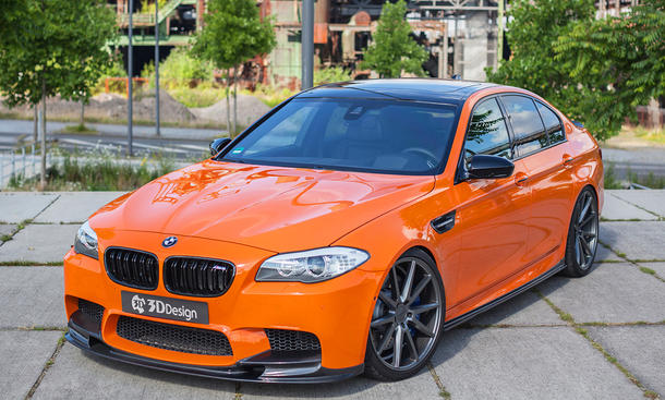 BMW M5: Tuning von Carbonfiber Dynamics