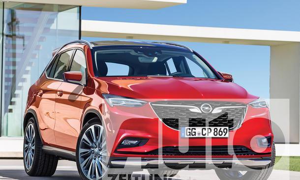 Opel Omega X (2019)