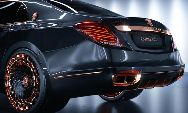 Mercedes-Maybach S600: Tuning