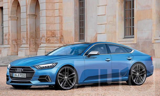Audi A7 (2018): Erste Fotos | Bild 2 - autozeitung.de