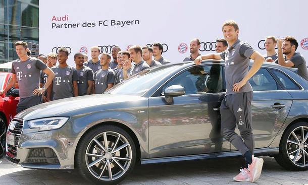Audis f�r FC Bayern