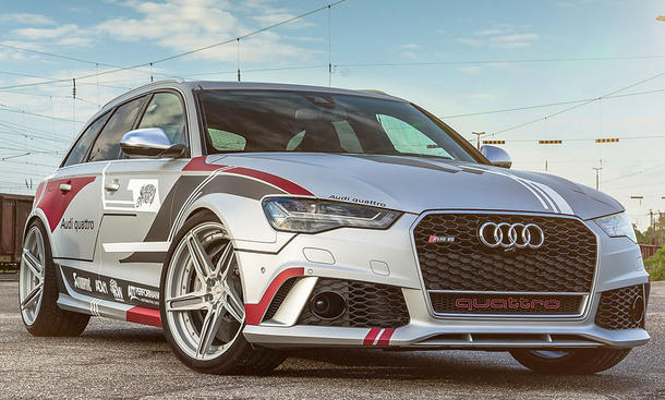 Audi RS 6: Tuning von ADV.1 Wheels