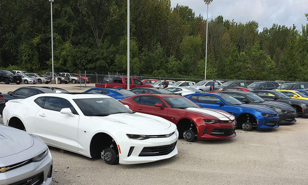Dodge Charger SRT Hellcat/Challenger SRT Hellcat: Felgen-Diebstahl