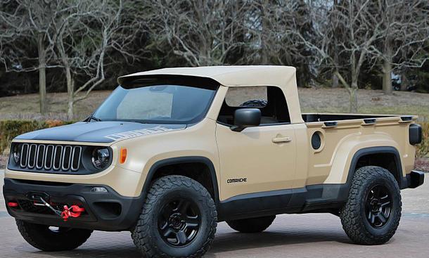 Jeep zeigt Comanche Concept-Pickup