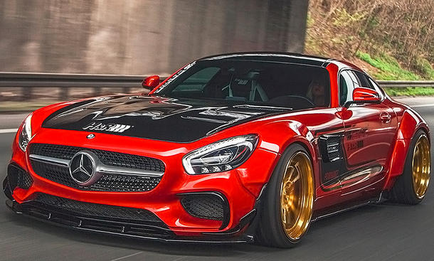 mercedes amg gt s tuning von prior design update. Black Bedroom Furniture Sets. Home Design Ideas