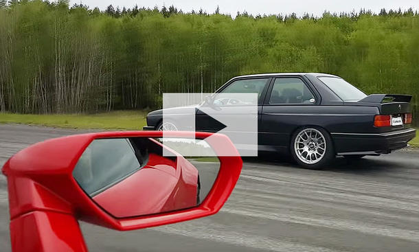 BMW M3 E30 gegen Lamborghini Huracán: Video