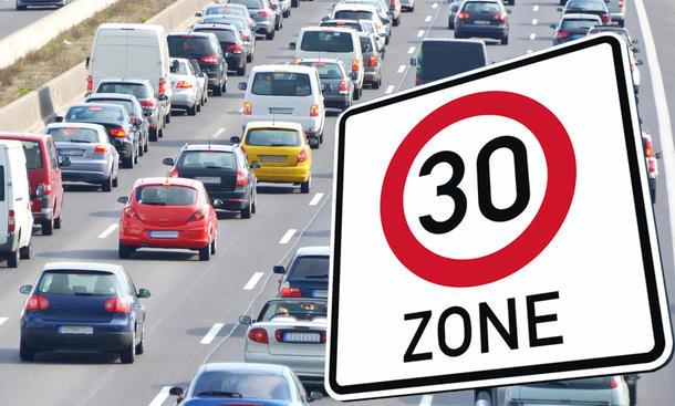 Tempo 30 auf Hauptstraßen