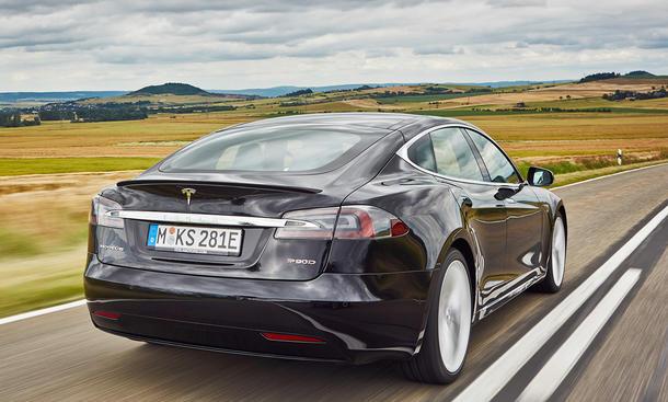 Tesla Model S P90D im Test
