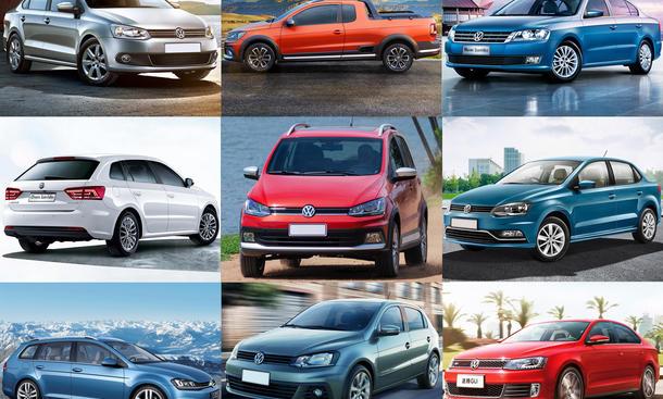 Unbekannte VW-Modelle: Quiz