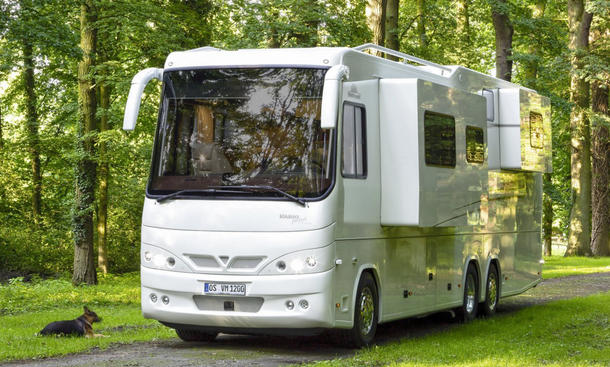 Vario Perfect 1200 SH: Caravan Salon 2016