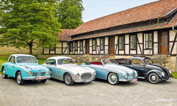 Gutbrod/Cisitalia/Rometsch/Beutler: Classic Cars