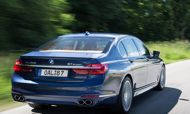 Top-12 der stärksten Luxuslimousinen: Alpina B7 Biturbo X-Drive