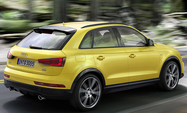 audi q3 facelift 2016 preis und marktstart. Black Bedroom Furniture Sets. Home Design Ideas