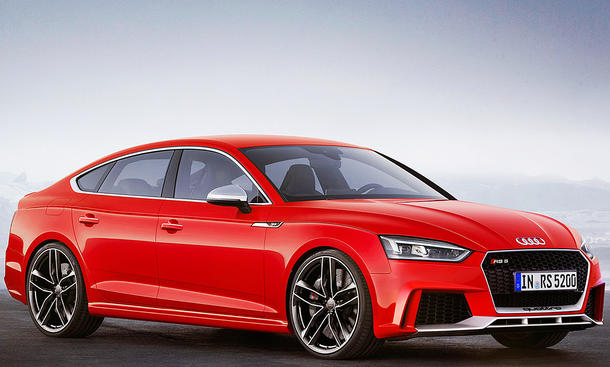 Audi RS 5 Sportback (Illustration)
