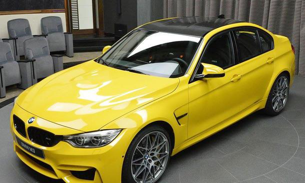 Abu Dhabi Motors BMW M3