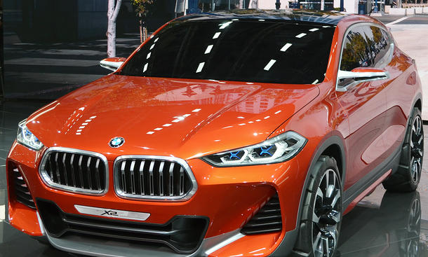 Autosalon Paris 2016: BMW X2 Concept