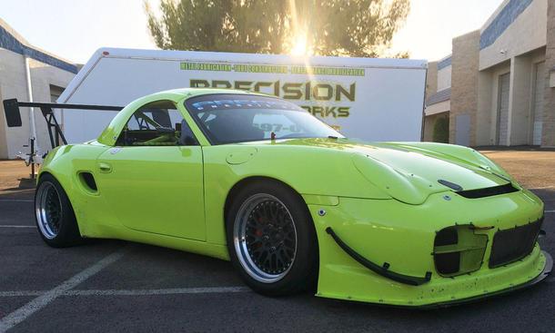 Modifizierter Porsche Boxter