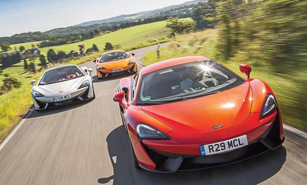 McLaren 540C, 570S und 570GT