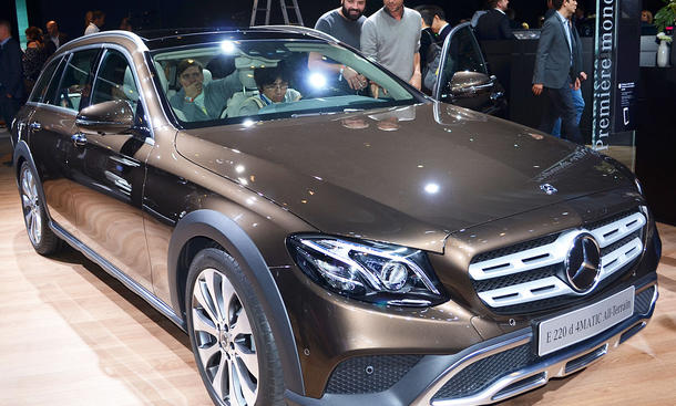 Technische Daten Mercedes E