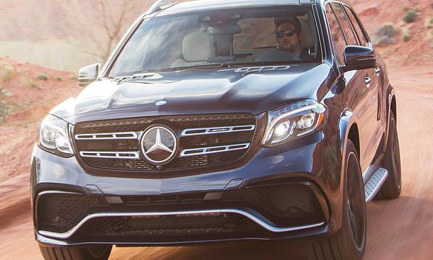 Neuer Mercedes-AMG GLS 63