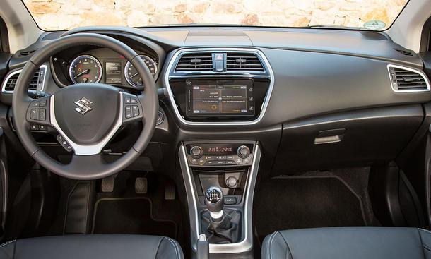 Neuer Suzuki SX4 S Cross Erste Fahrt