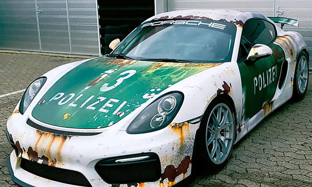 Porsche Cayman GT4 von Wrap Style