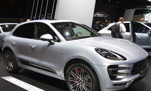Porsche Macan Turbo (Performance) 2016