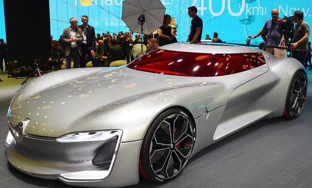 Renault Trezor 2016 Alle Infos Autozeitungde
