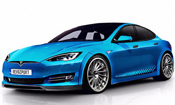 tesla model s p100d tuning von revozport. Black Bedroom Furniture Sets. Home Design Ideas