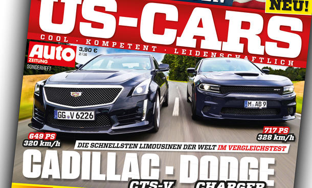 Auto Zeitung - US-Cars Cover