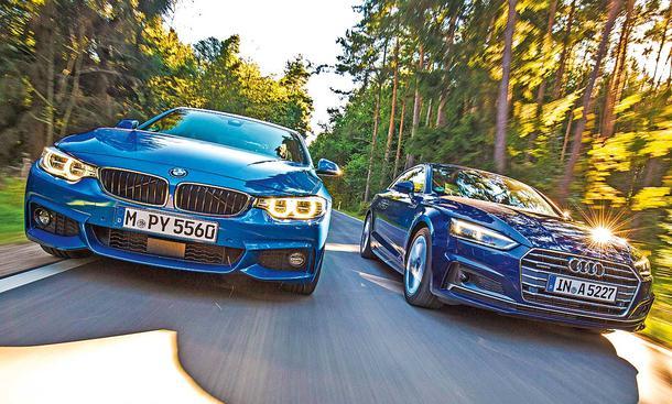 BMW 4er und Audi A5 im Test