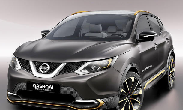 nissan qashqai facelift 2017 erste informationen bild 3. Black Bedroom Furniture Sets. Home Design Ideas
