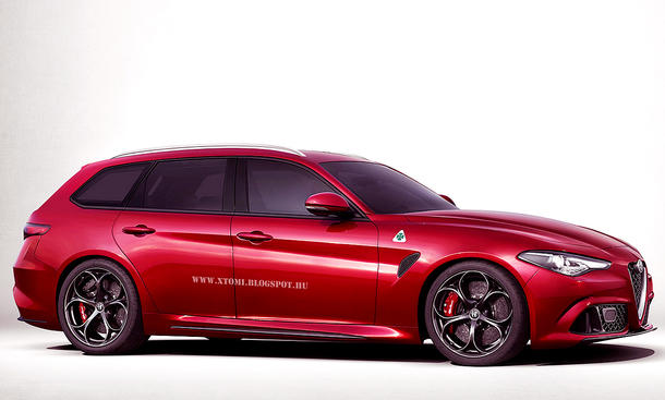 alfa romeo giulia sportwagon 2017 ger chte. Black Bedroom Furniture Sets. Home Design Ideas