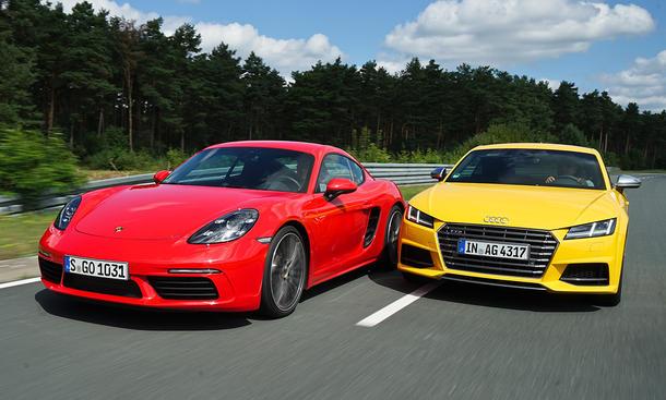 Audi TTS/Porsche 718 Cayman: Vergleich