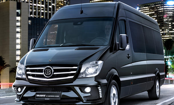 mercedes sprinter tuning von brabus. Black Bedroom Furniture Sets. Home Design Ideas