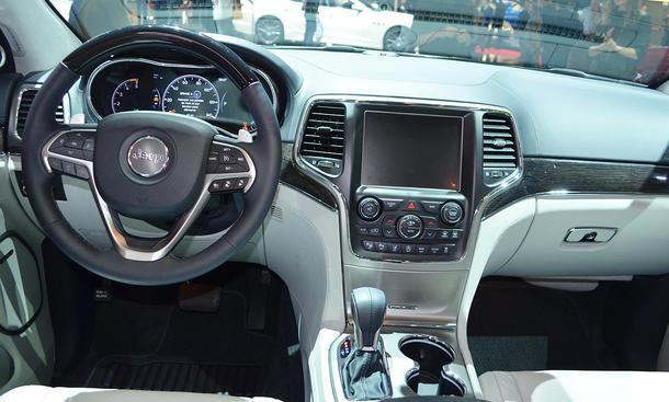 jeep grand cherokee facelift autosalon paris 2016 bild 8. Black Bedroom Furniture Sets. Home Design Ideas