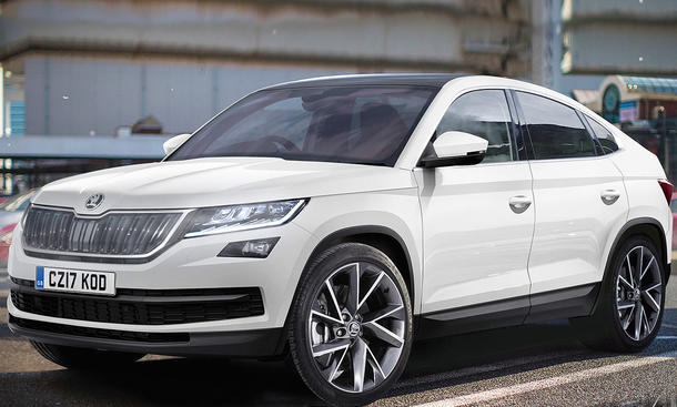 skoda kodiaq coup 2019 studie update. Black Bedroom Furniture Sets. Home Design Ideas