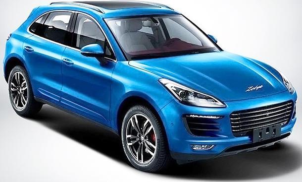 Zotye SR8 (Preis): Porsche-Plagiat aus China (Update!) |